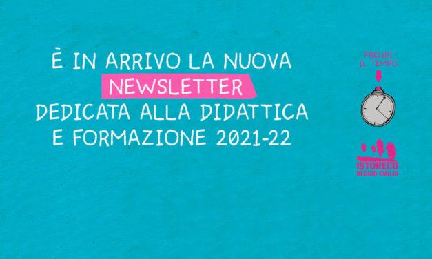 Iscriviti alla nuova newsletter della sezione didattica!