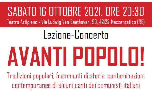 La Notte Rossa 2021 –  Avanti Popolo